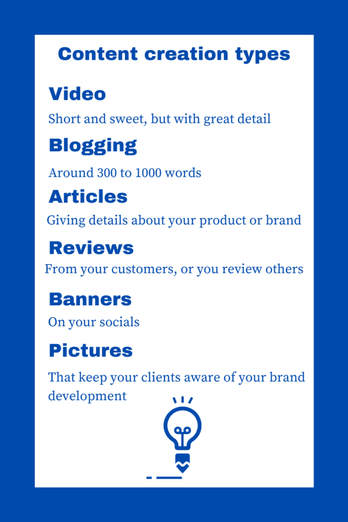 How to do content marketing checklist of content creation